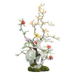 19th Chinese Fencai Vase by Artist Patrick Bergsma Fine Porcelain Art China