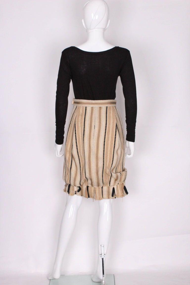 Women's A 2000 Yves Saint Laurent Rive Gauche Bubble Skirt For Sale