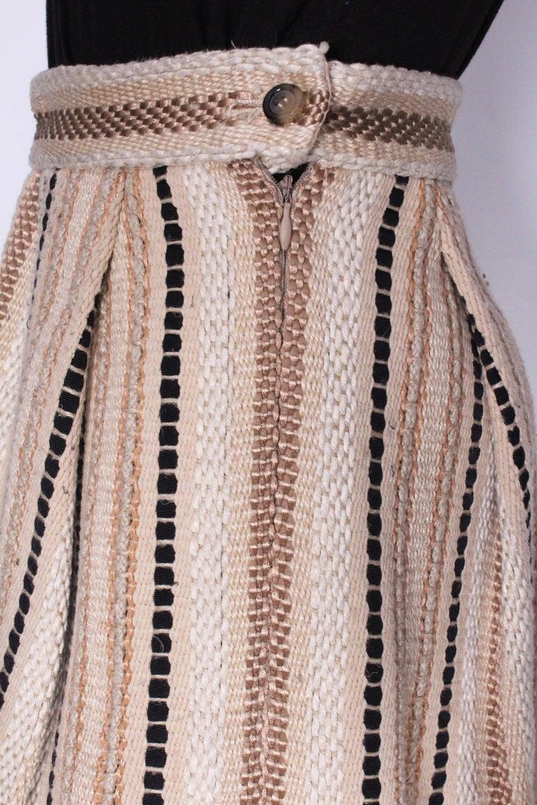 A 2000 Yves Saint Laurent Rive Gauche Bubble Skirt For Sale 2