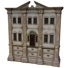 20th Century Special Dollhouse in a Very Large Format