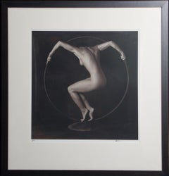 (Title Unknown) Nude-Framed Limited Edition Print. Signed by Artist