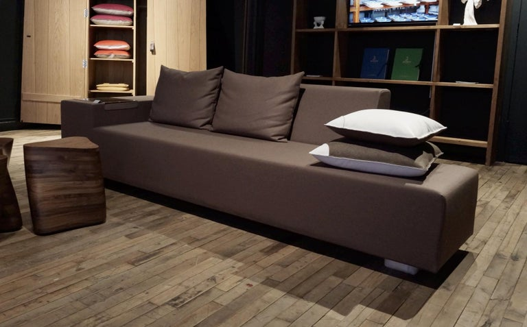 A. Anakis Sidigi Sofa in Ivory Wool by Domeau & Pérès For Sale 2