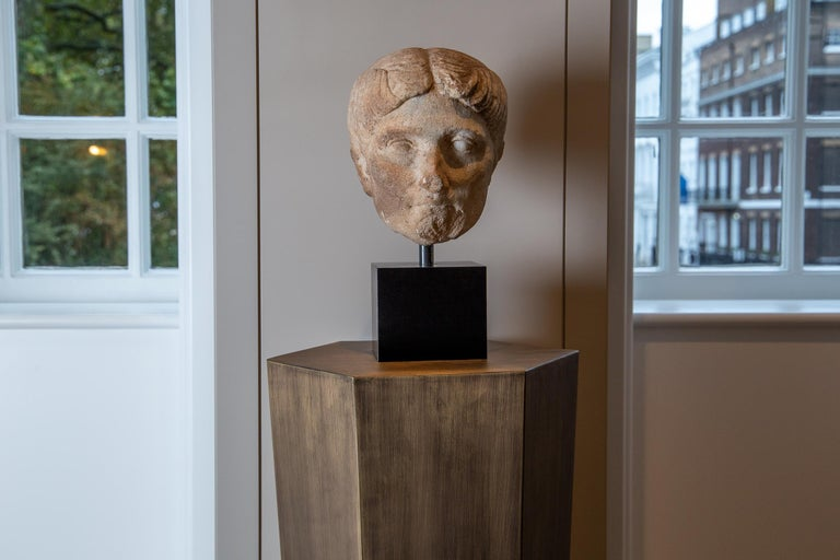 Classical Roman Ancient Roman Marble Bust of a Woman, 1st Century BC-1st century AD For Sale