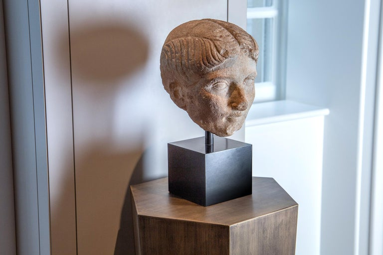18th Century and Earlier Ancient Roman Marble Bust of a Woman, 1st Century BC-1st century AD For Sale