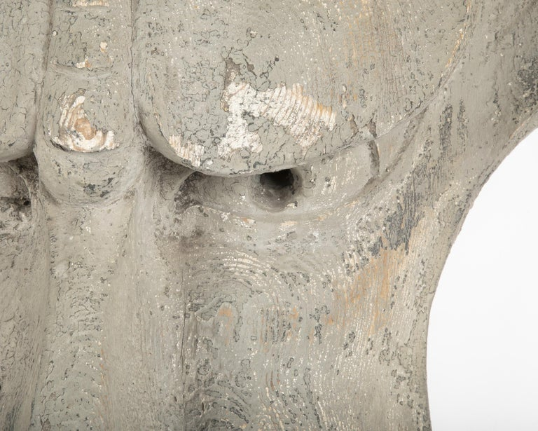 Architectural Element in the Form of a Face For Sale 4