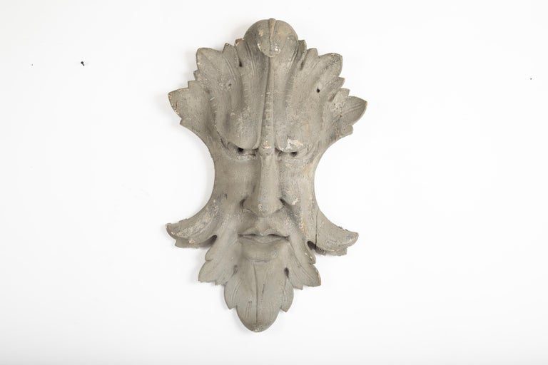 American Architectural Element in the Form of a Face For Sale