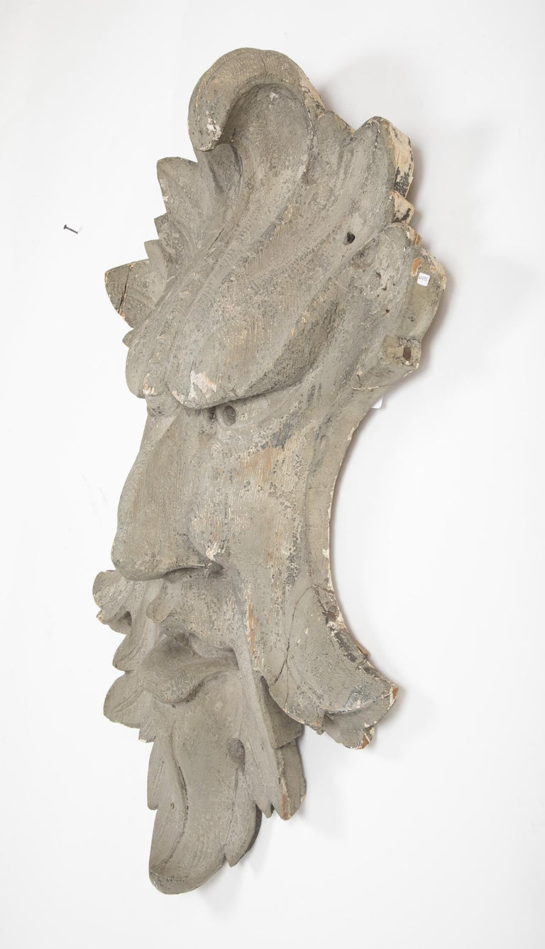 Architectural Element in the Form of a Face For Sale 2