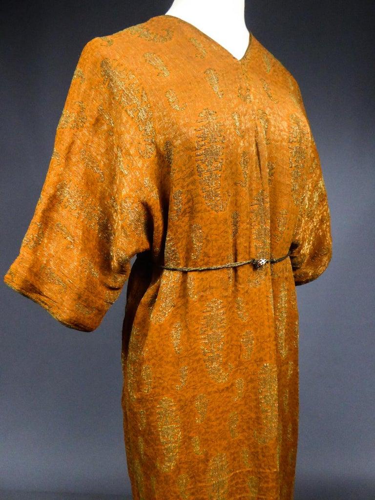 A Babani Kimono Dress (Attributed To) Circa 1920 For Sale 5