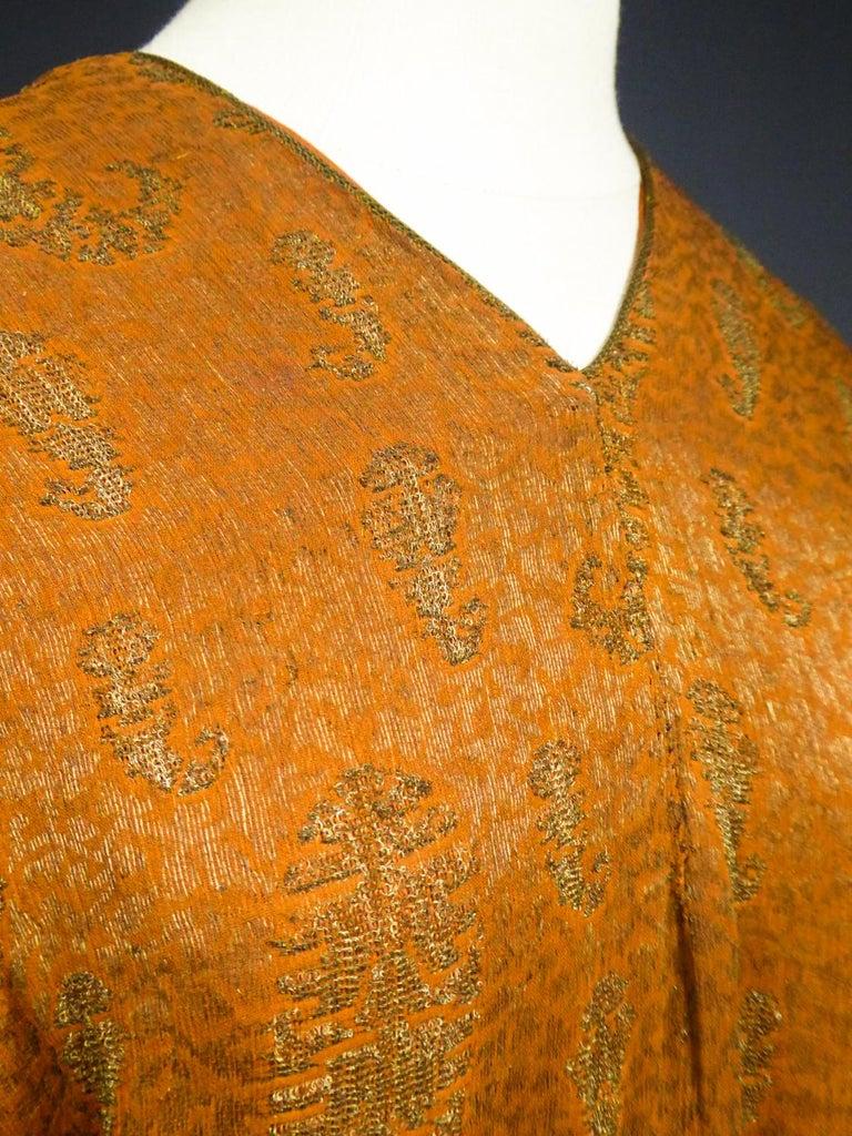 A Babani Kimono Dress (Attributed To) Circa 1920 For Sale 7