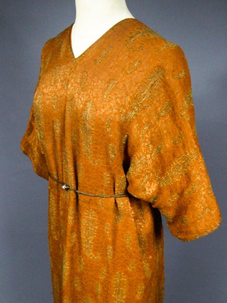 A Babani Kimono Dress (Attributed To) Circa 1920 For Sale 10