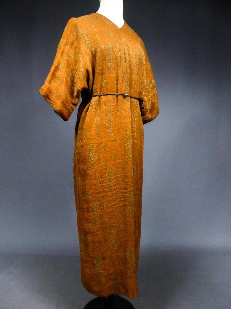 A Babani Kimono Dress (Attributed To) Circa 1920 For Sale 4