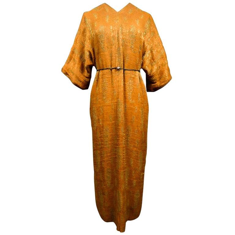 A Babani Kimono Dress (Attributed To) Circa 1920 For Sale
