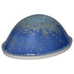 A. Bakker Dome in Blue Porcelain by Manufacture Nationale de Sèvres