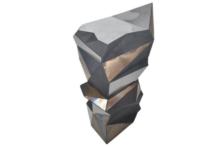 Belgian Asymmetrical Mirror Object / Pedestal, 1970 For Sale 2