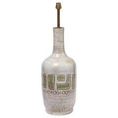 A big ceramic lamp by Accolay, circa 1960-1970.