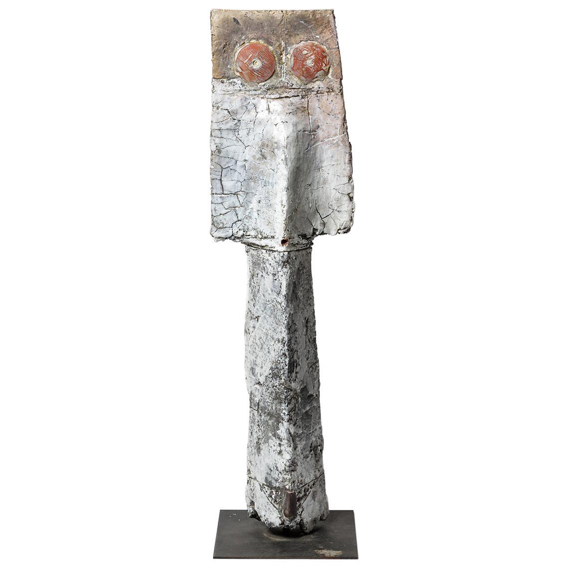 Big Ceramic Sculpture by Camille Virot, circa 1990-2000