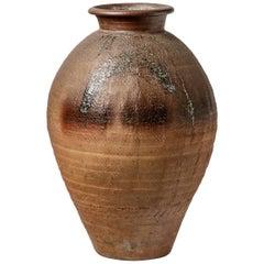 Big Ceramic Vase by Steen Kepp, to La Borne, circa 1970-1980