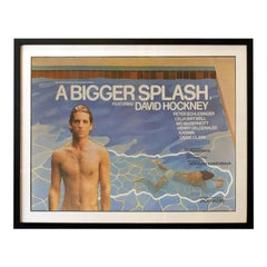 A Bigger Splash (1973) Poster