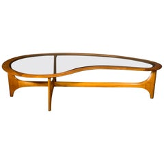 Biomorphic Coffee Table by Lane