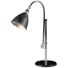 BL1 Desk Lamp by Bestlite in Chrome and Black Enamel, by Robert Dudley Best