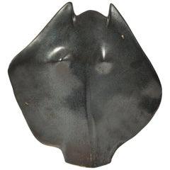 Black Ceramic Sculpture by Tim Orr
