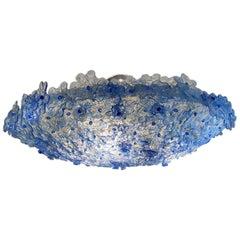 Blue Glass Millefiori Light Fixture