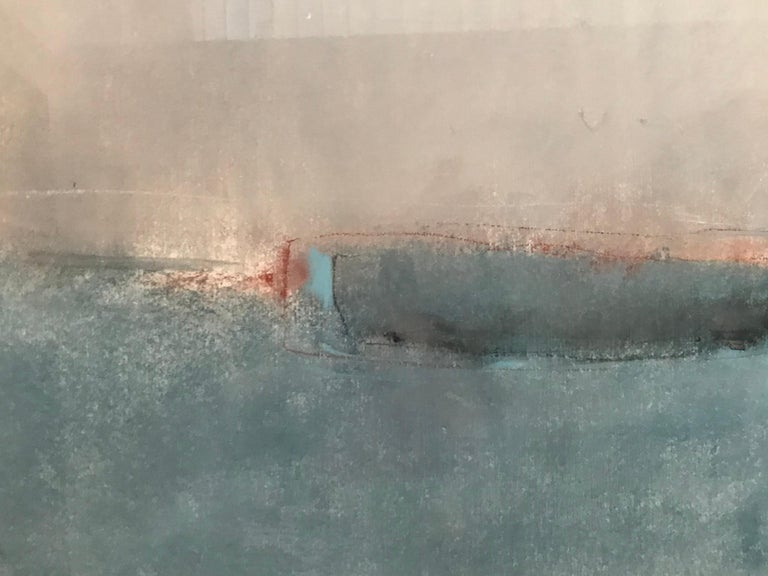 Late 20th Century Boat Lost at Dusk Watercolor Signed Shelly Shepperd, 1979 For Sale