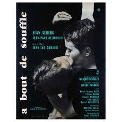 À Bout De Souffle, 1960 Poster
