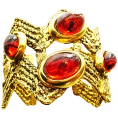 A bracelet designed by Mercedes Rubirosa 1980s