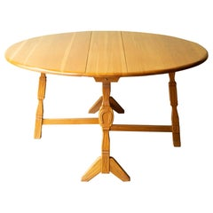A. Brandt Drop Leaf Dining Table/Console, circa 1940