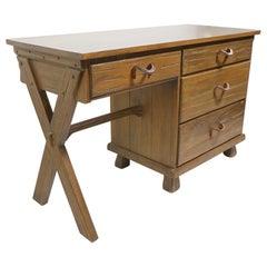 A. Brandt Ranch Oak Cowboy Modern Desk 2 Available