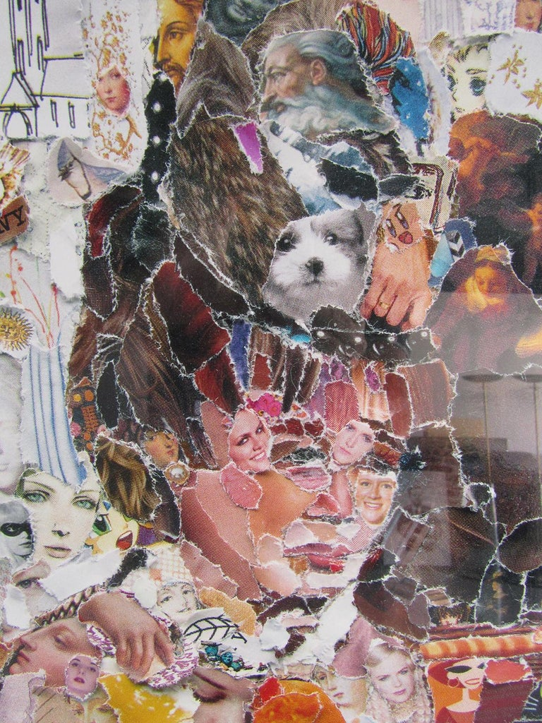 The Absinthe Drinker, after Edgar Degas (Pictures of Magazines 2) 2011 Edition 4/6 Vik Muniz's artwork has a grand accessibility, in a modern day Warholian manner, and through an extensive visual language touches the viewers collective memory.The