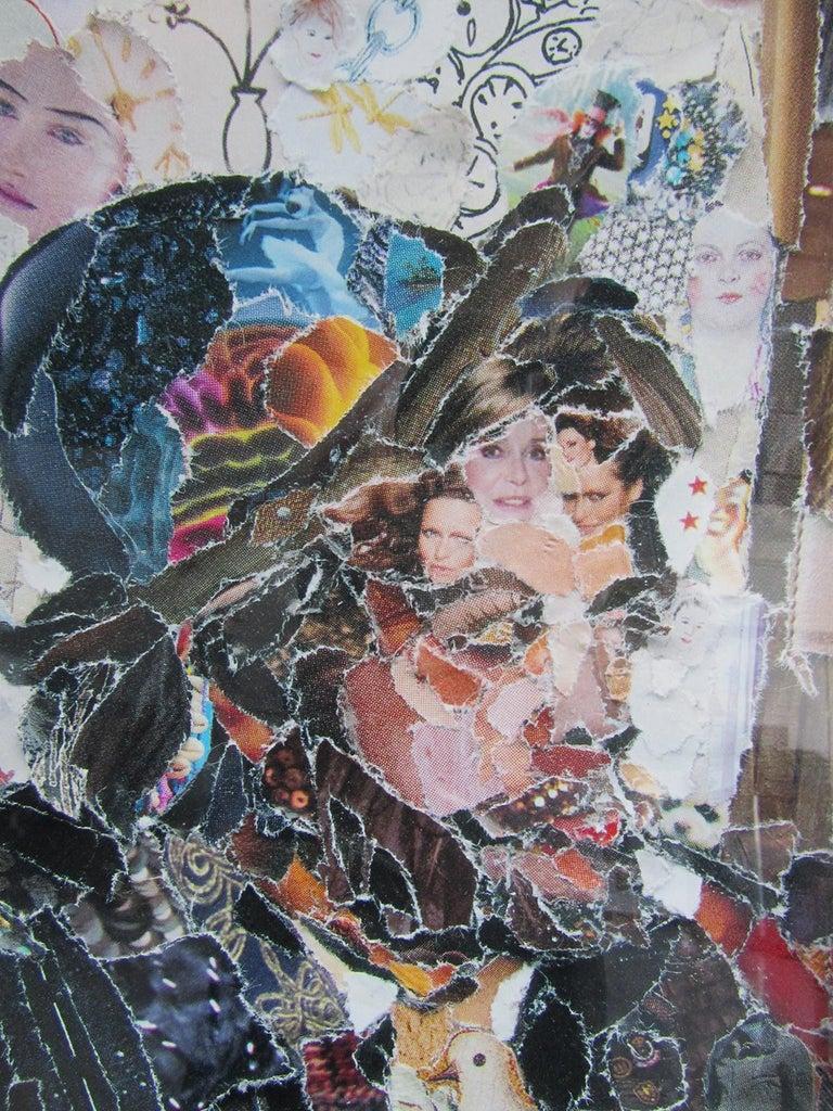 Brazilian Modern Abstract Expressionist Chromogenic Print, Vik Muniz In Good Condition For Sale In Miami, FL