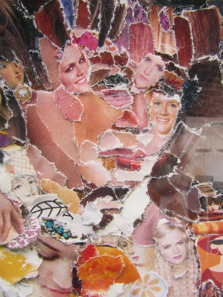 Contemporary Brazilian Modern Abstract Expressionist Chromogenic Print, Vik Muniz For Sale