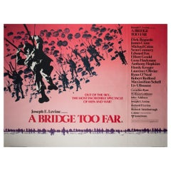 A Bridge Too Far 1977 UK Quad Style B Film Poster