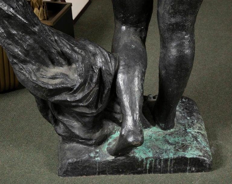 Bronze Sculpture After Le Grande Venus Victrix by Pierre-Auguste Renoir For Sale 3
