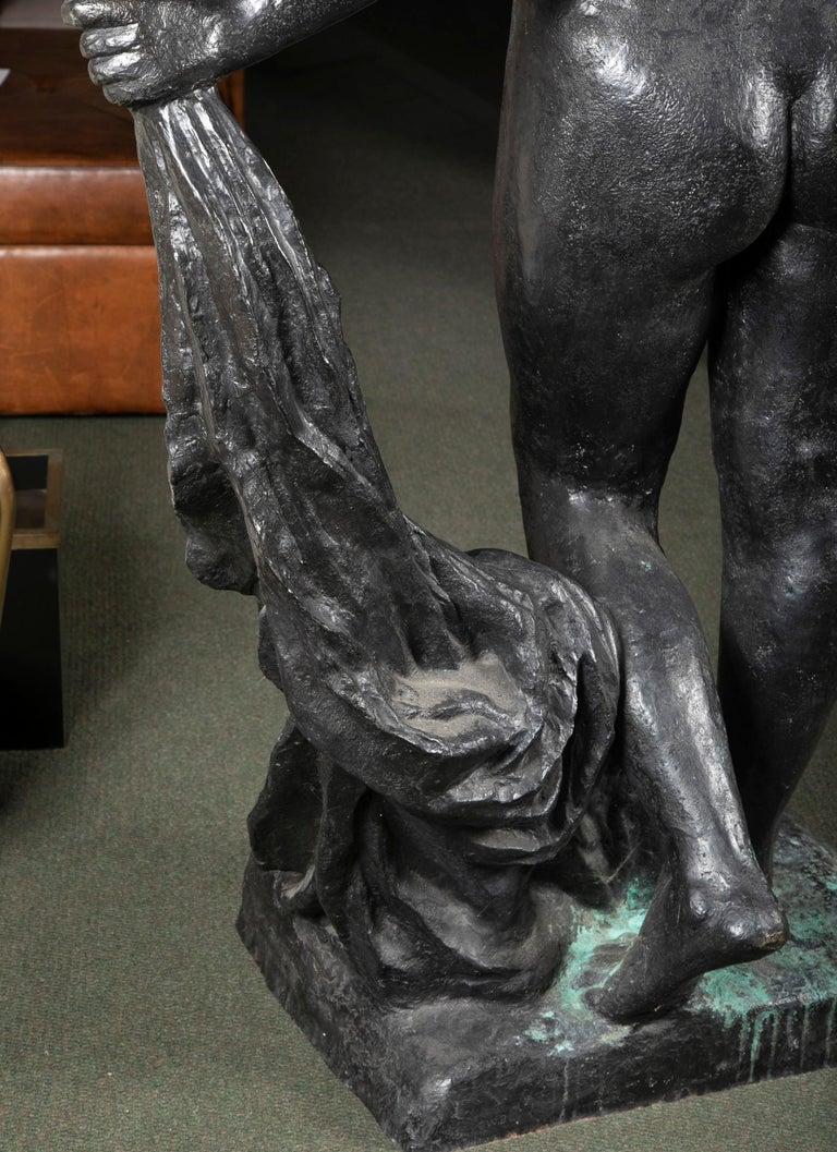 Bronze Sculpture After Le Grande Venus Victrix by Pierre-Auguste Renoir For Sale 5