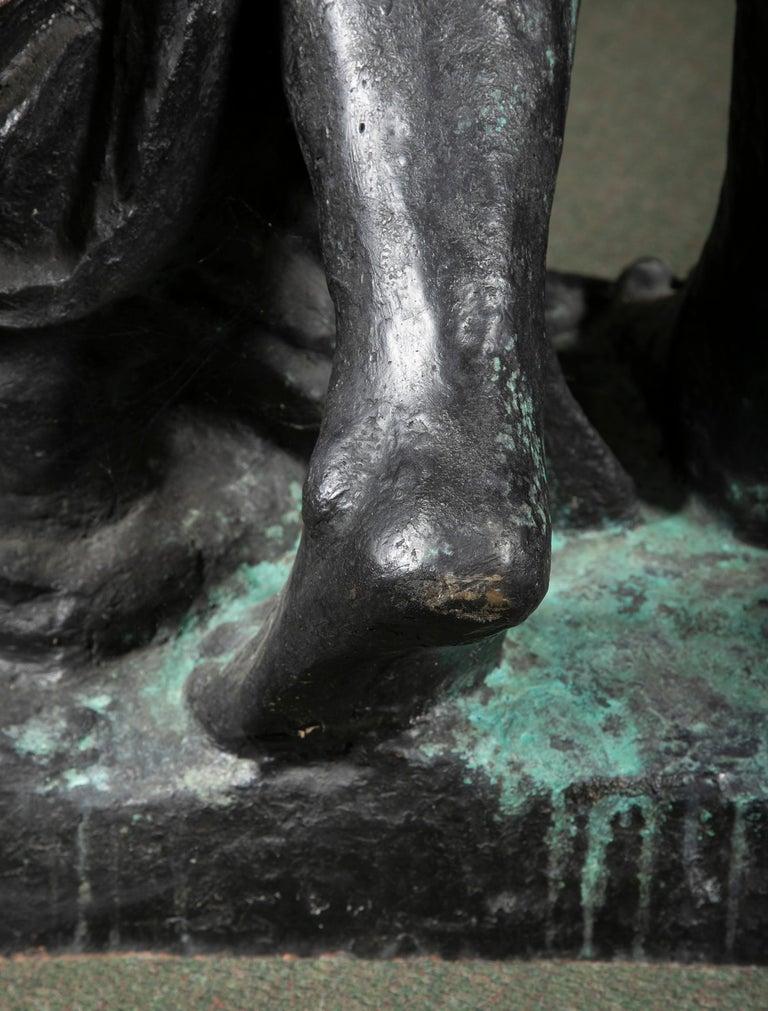 Bronze Sculpture After Le Grande Venus Victrix by Pierre-Auguste Renoir For Sale 7