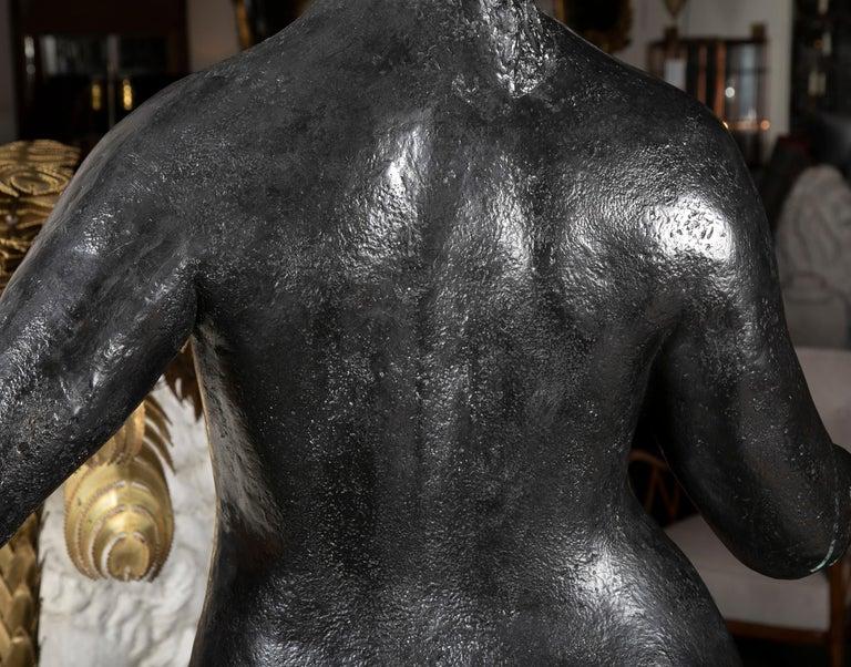 Bronze Sculpture After Le Grande Venus Victrix by Pierre-Auguste Renoir For Sale 8