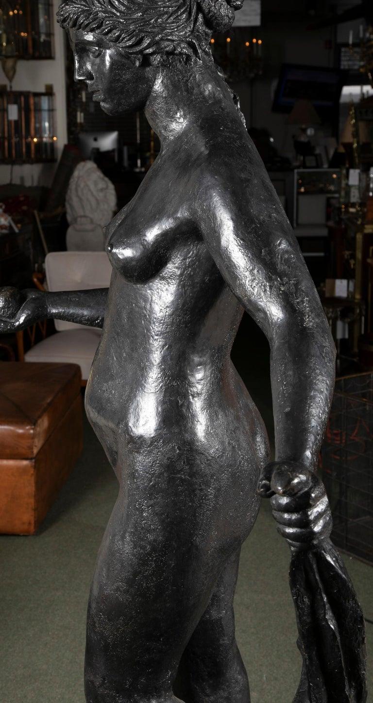 Bronze Sculpture After Le Grande Venus Victrix by Pierre-Auguste Renoir For Sale 9