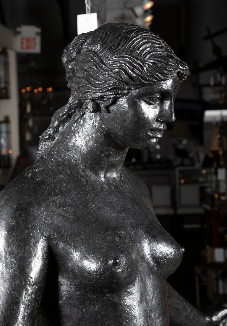 Modern Bronze Sculpture After Le Grande Venus Victrix by Pierre-Auguste Renoir For Sale