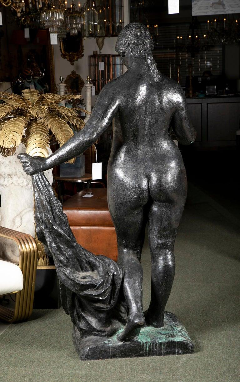 Bronze Sculpture After Le Grande Venus Victrix by Pierre-Auguste Renoir For Sale 2