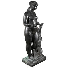 Bronze Sculpture After Le Grande Venus Victrix by Pierre-Auguste Renoir
