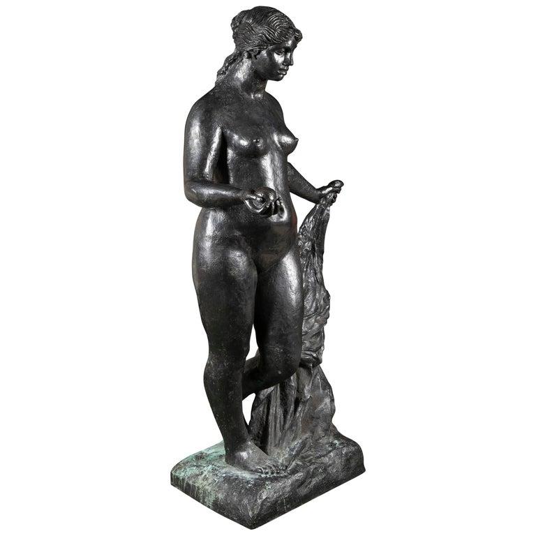 Bronze Sculpture After Le Grande Venus Victrix by Pierre-Auguste Renoir For Sale