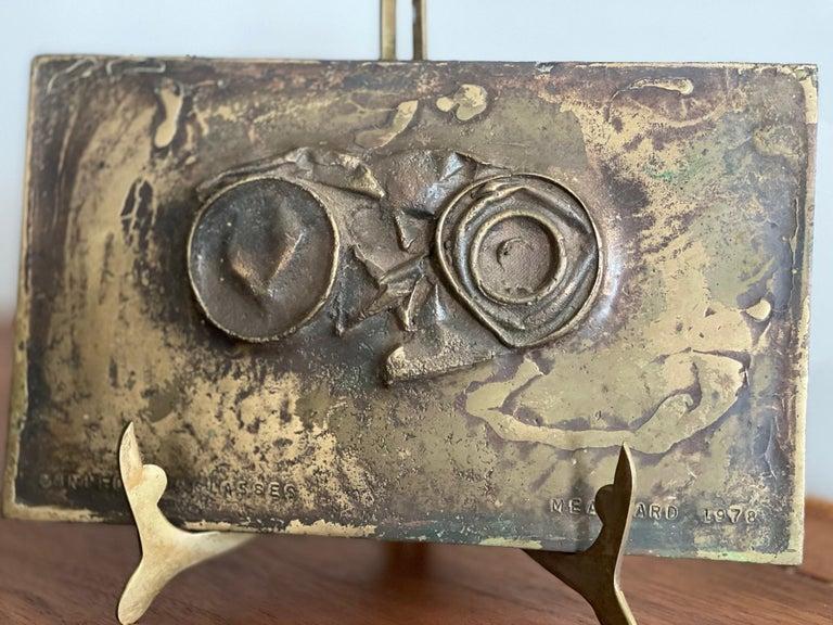 Modern Bronze Sculpture by Jerry Meatyard