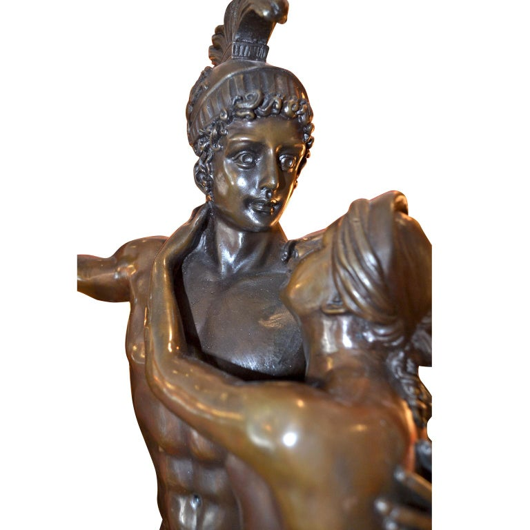 Bronze Statue Depicting Mars and Venus after the Original ...