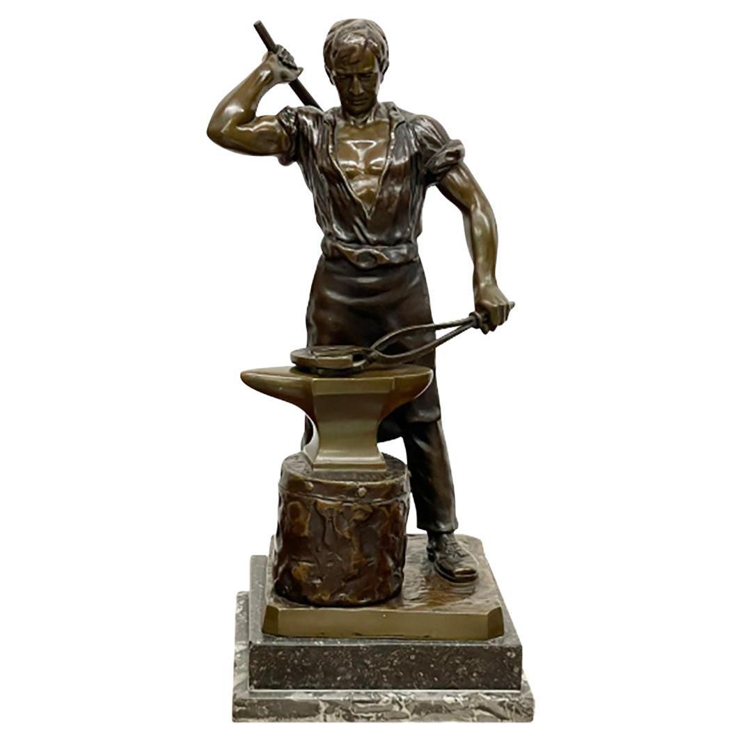 Bronze Statue of a Farrier