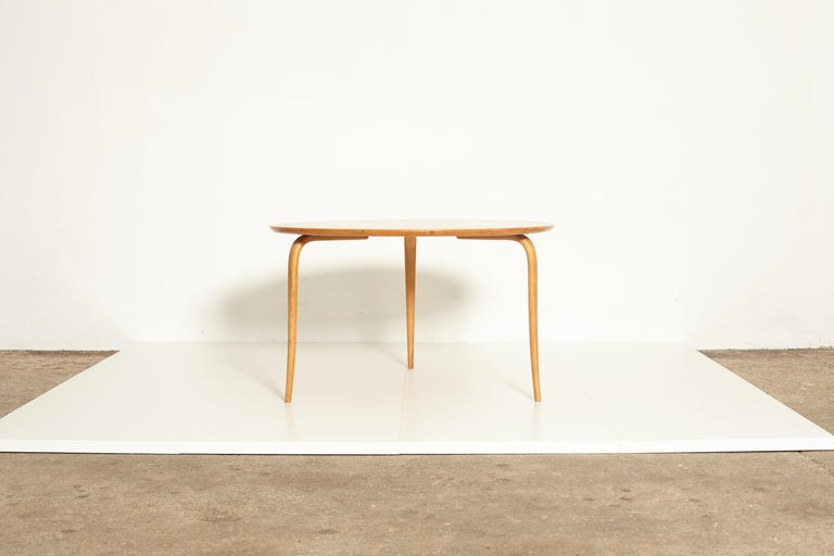 Mid-Century Modern Bruno Mathsson Annika Coffee Table, Made by Karl Mathsson, Sweden, 1940s-1950s For Sale