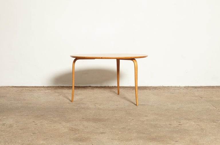 20th Century Bruno Mathsson Annika Coffee Table, Made by Karl Mathsson, Sweden, 1940s-1950s For Sale