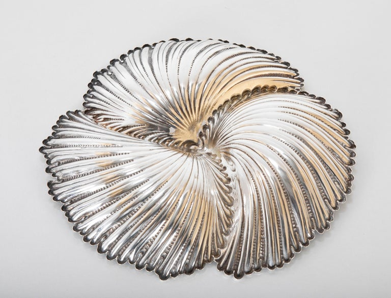 Italian Buccellati Sterling Silver Dish by Gianmaria Buccellati For Sale